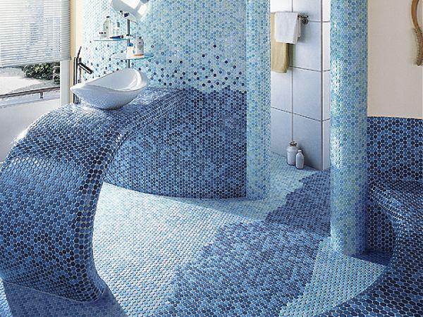Идеи интерьера при помощи мозаичной плитки