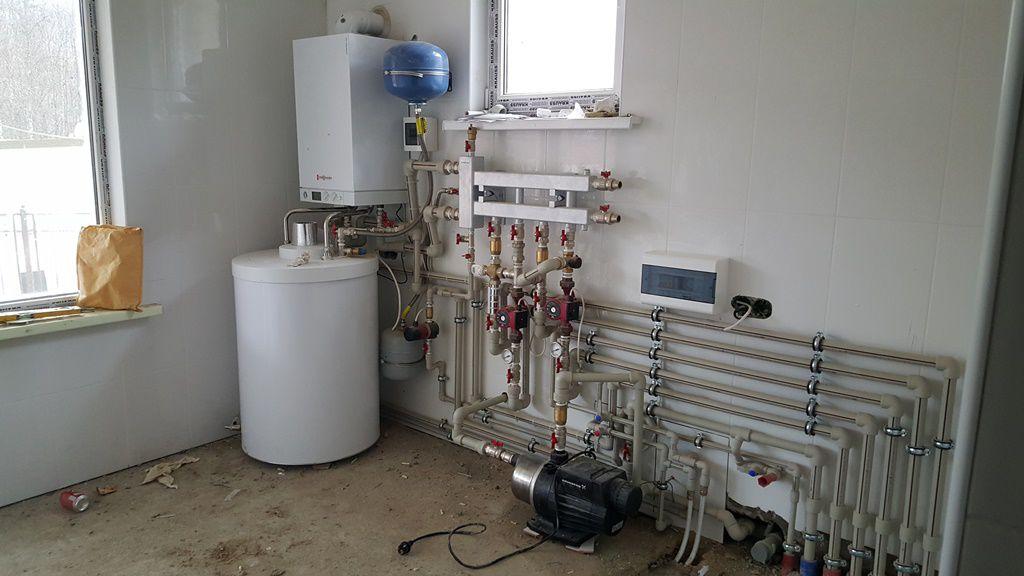 Холодное водоснабжение частного дома