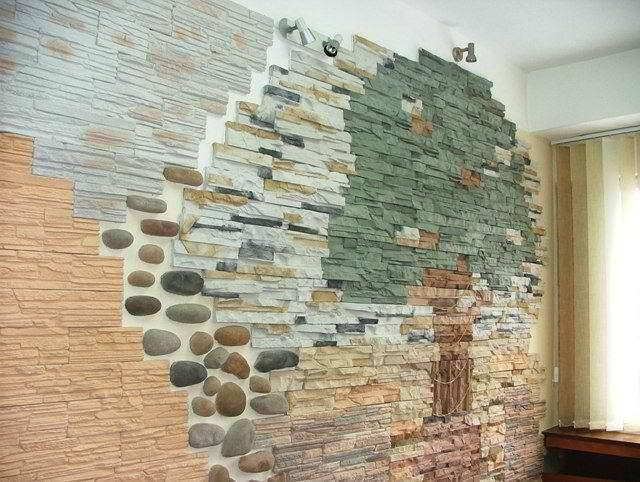 Декоративные камни для интерьера своими руками