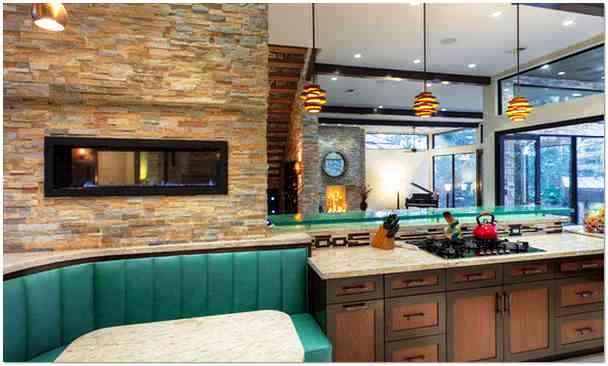Оформление и отделка стен на кухне