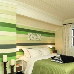 Фото оригинального оформления спальни