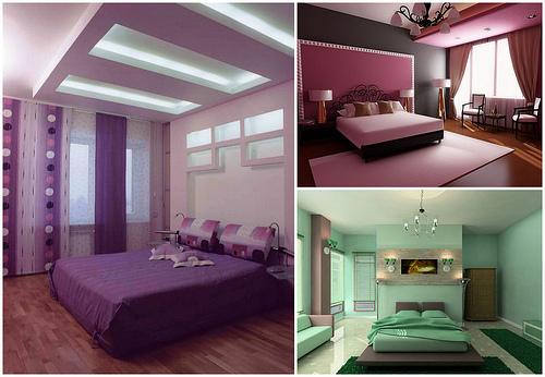 Цветовые решения для спальни фото