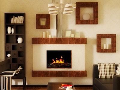 Декоративный камин, это украшение вашего интерьера