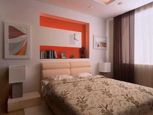 Как сделать дизайн спальни своими руками 12 кв. м