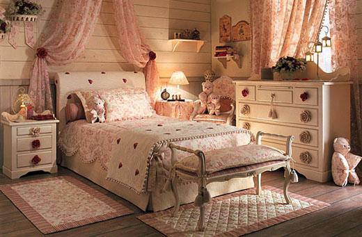 Фото спальни в стиле прованс