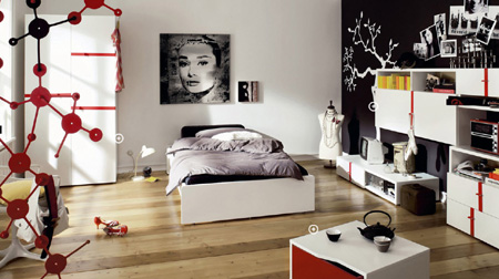 Как выглядит интерьер спальни для девочки подростка