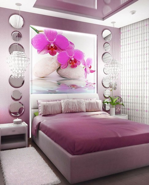 Фото оформления спальни 12 квадратов