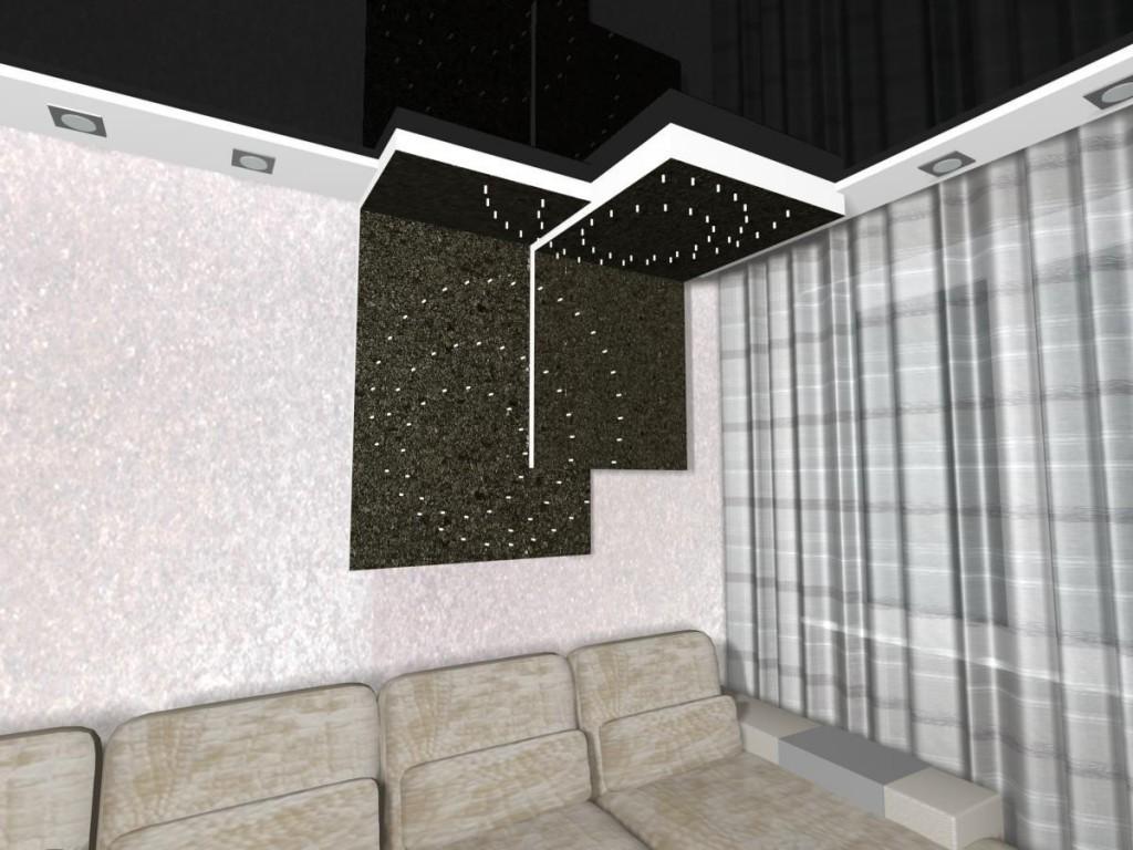 Фото интерьера, оформленного фальш-панелями