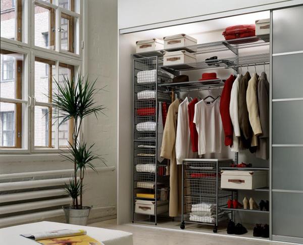 Значимость гардеробной в спальне