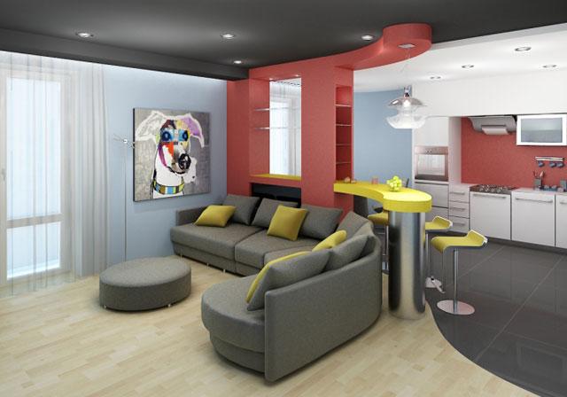 http://sam-sebe-dizainer.com/public/images/Вариант, совмещения гостиной с кухней