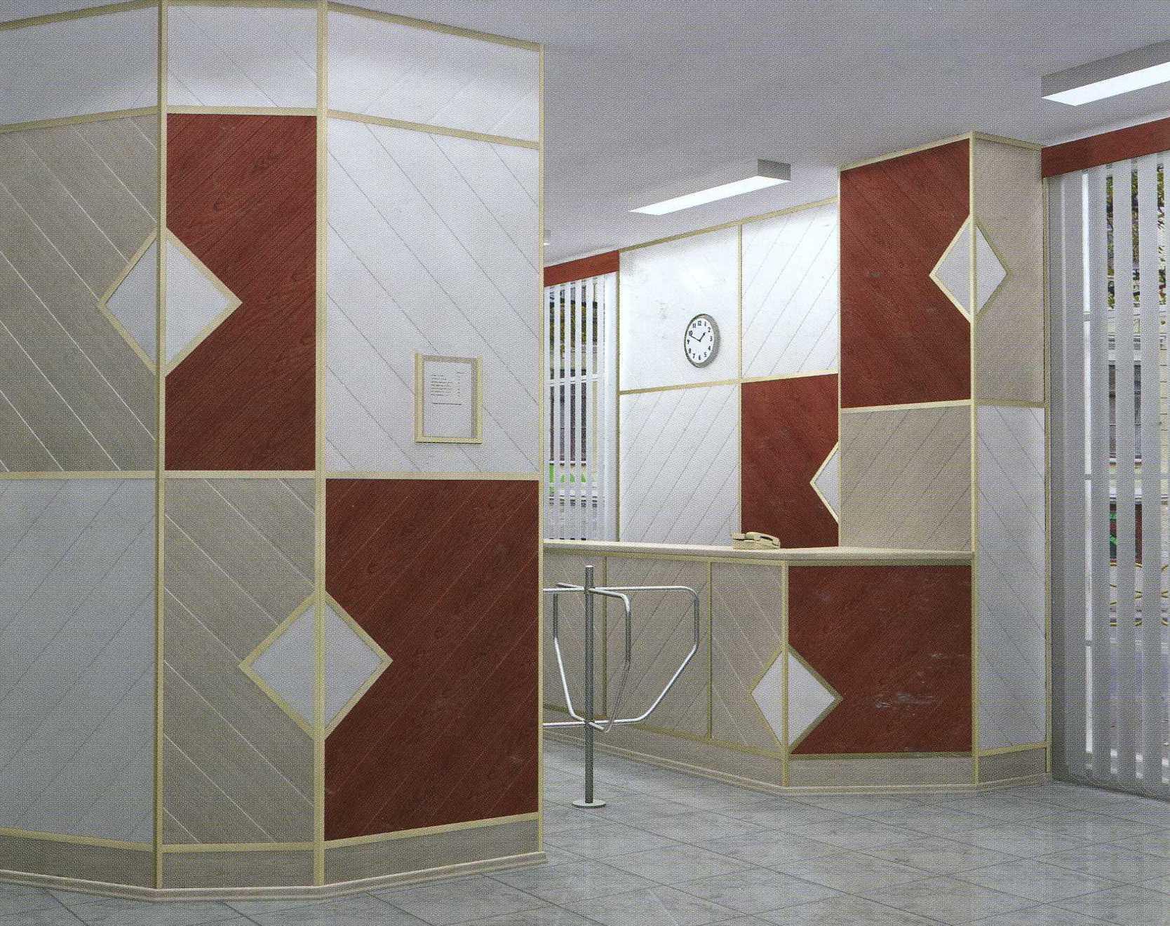 Декоративные материалы для отделки внутренних стен