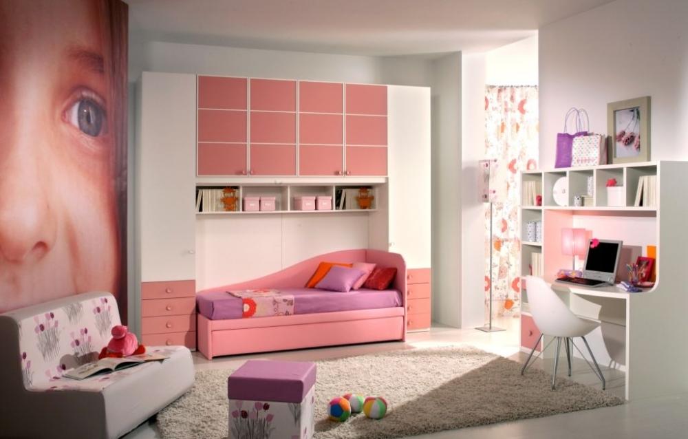 Спальня для подростка для девочек: оформление интерьера