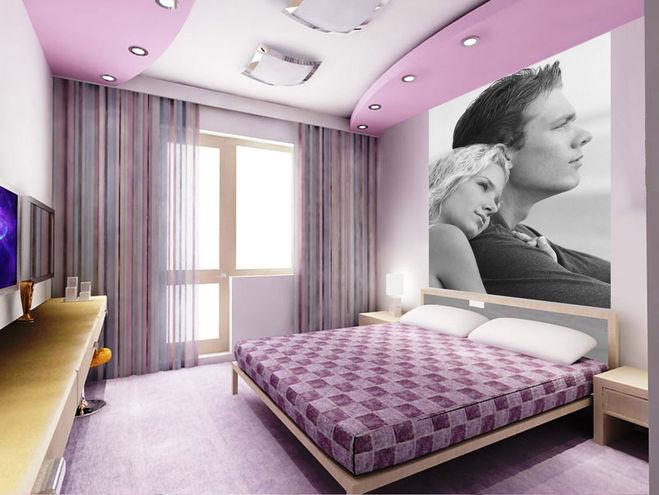 Какое настроение можно придать спальной комнате