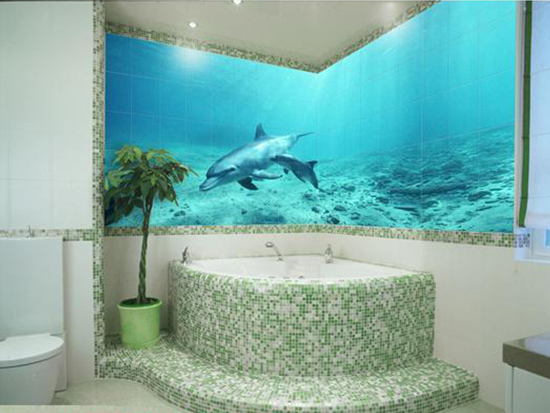 Дизайн плитки в ванной: варианты укладки Ремонт Дизайн плитка 3 д для ванной