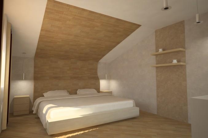 Как оформить стену ламинатом