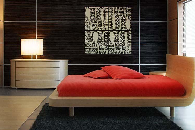 Фото спальни 4 на 4 в светлой цветовой гамме
