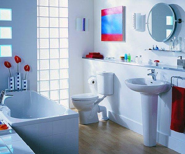 Дизайн ванной комнаты при помощи гипсокартона