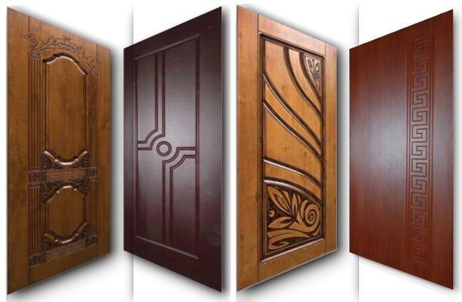 Отделка дверей металлических с использованием МДФ является одной из самых распространенных.