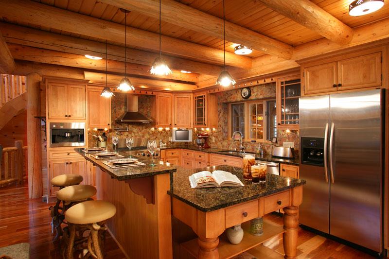 Деревянная кухня, это модно и стильно