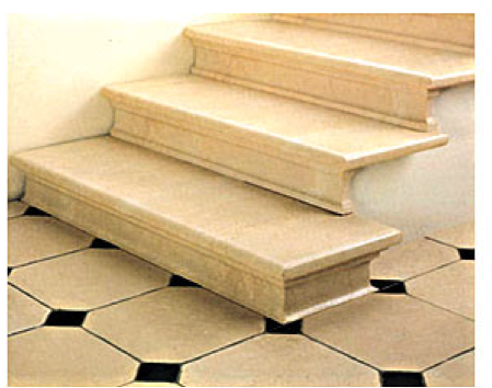 Оформление ступеней керамогранитной плиткой