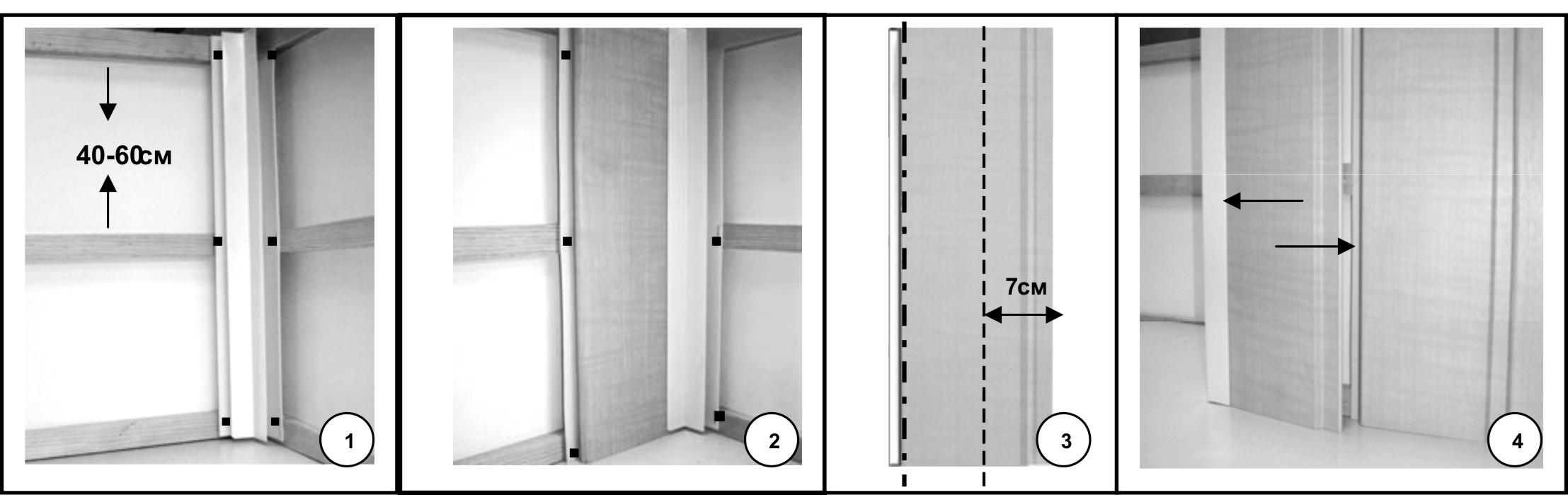 Как сделать дверь из панелей пвх своими руками