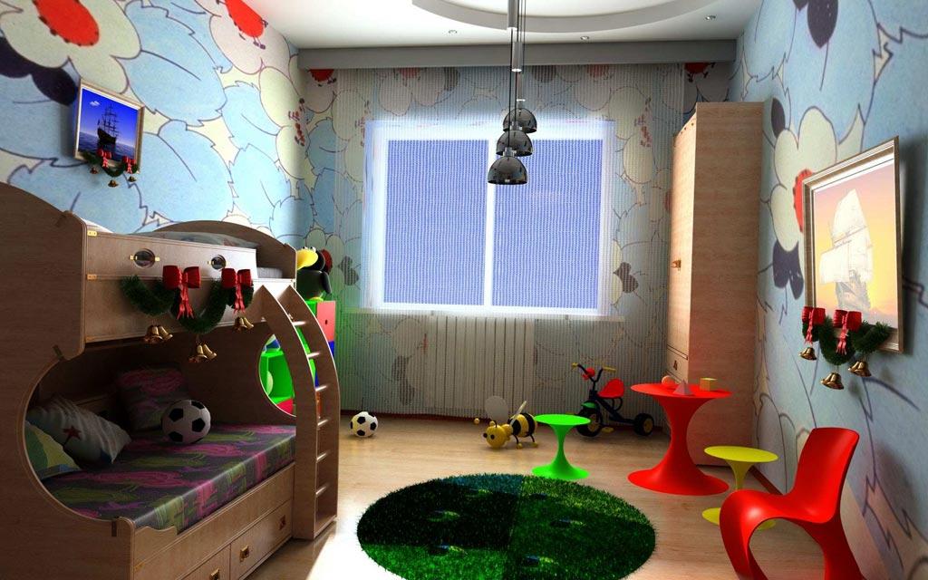 Нюансы оформления детской комнаты
