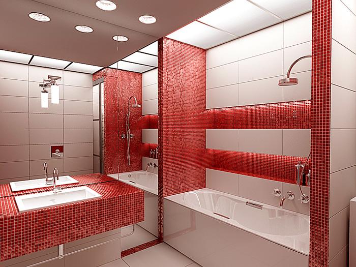 Дизайн проект интерьера ванной