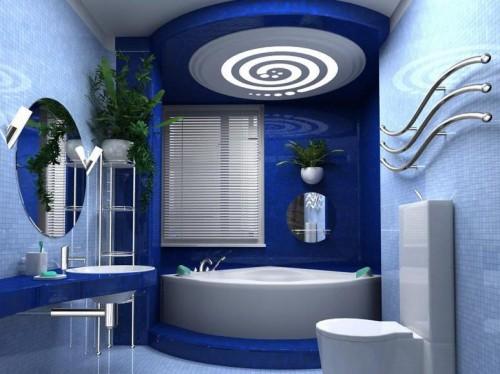 Потолок для ванной, выбор материала для отделки