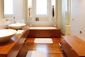 Отделка деревом ванной комнаты фото нестандартная ванная комната ремонт
