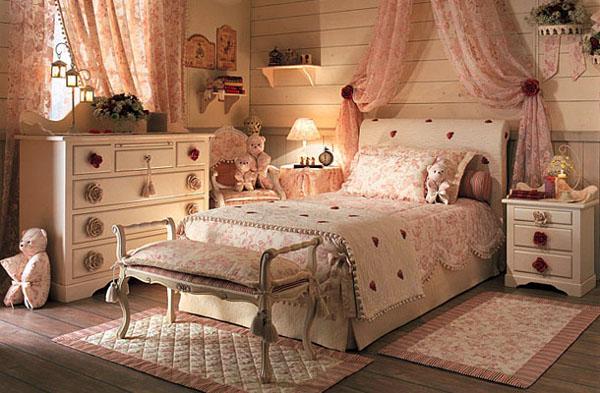 Как оформить маленькую спальню в стиле прованс