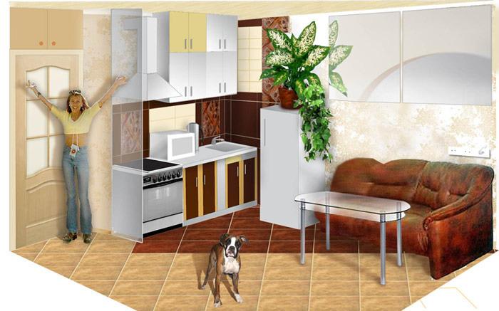 Ремонт и отделка кухни своими руками