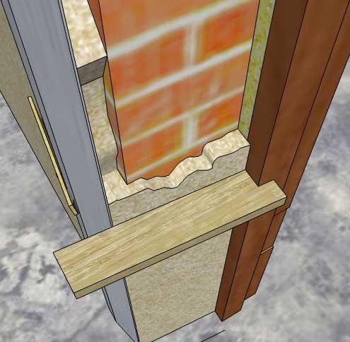 С внешней стороны входные двери чаще всего имеют наличники, куда все красиво убирается еще при монтаже дверей.
