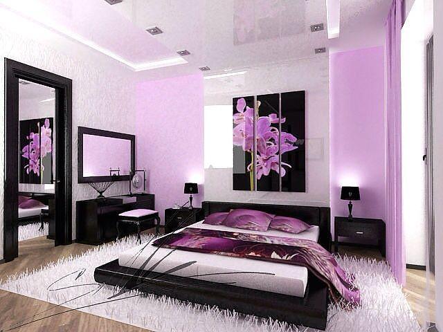 Сиреневый цвет в интерьере: свежесть и изящество интерьера