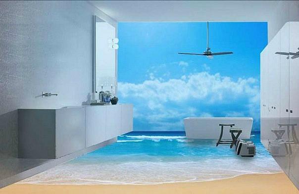 http://sam-sebe-dizainer.com/public/images/Теплая и влажная среда – это те особенности помещения и факторы, которые необходимо учитывать при отборе материалов в ванную.