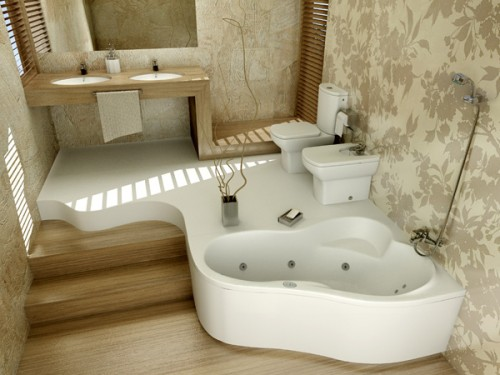 Виды отделочного материала для ванной комнаты